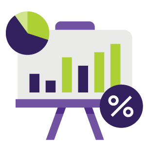 website growth revenue icon